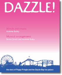 Dazzle! the musical show poster